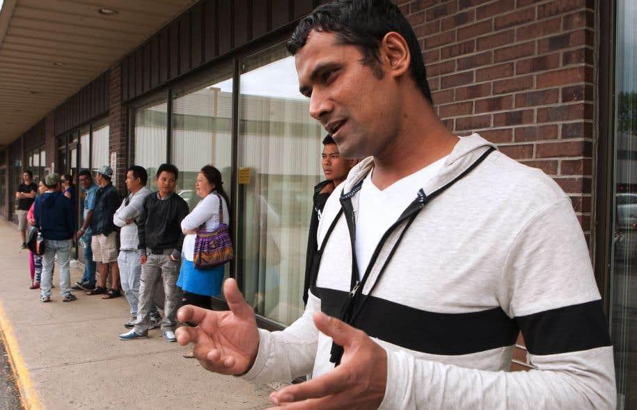 Bhakta Bahadur Ghimise a réussi le test à son troisième essai l'an dernier.