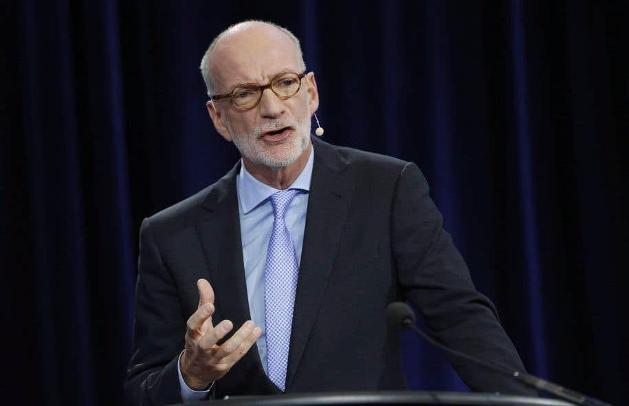 <p>L'initiative a été dévoilée par le président du diffuseur public, Hubert T. Lacroix.</p>