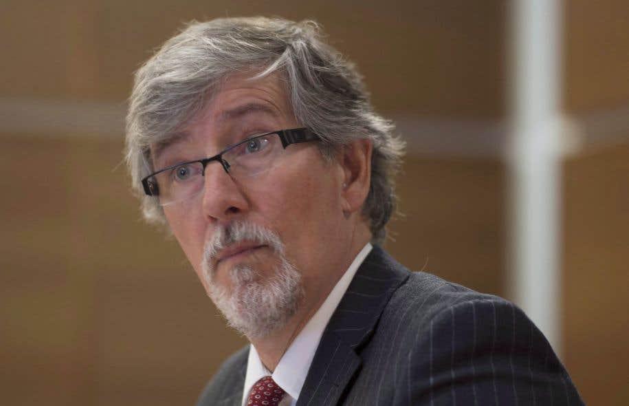 Le commissaire Daniel Therrien s'inquiète du ton emprunté par le gouvernement pour les consultations publiques sur la sécurité nationale.