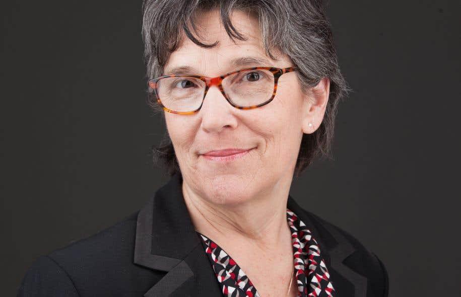 Lucie Lamarche, professeure au Département des sciences juridiques de l'UQAM