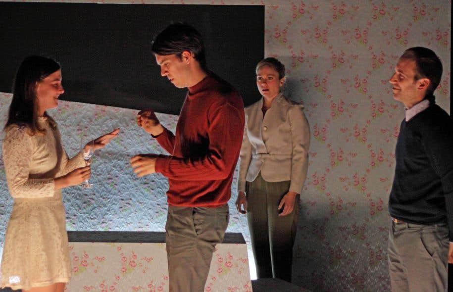 Malgré son côté formel et cérébral, la pièce «Je crois?» n'a rien d'un exercice de style, et ce, grâce à une distribution solide dirigée avec une grande précision.