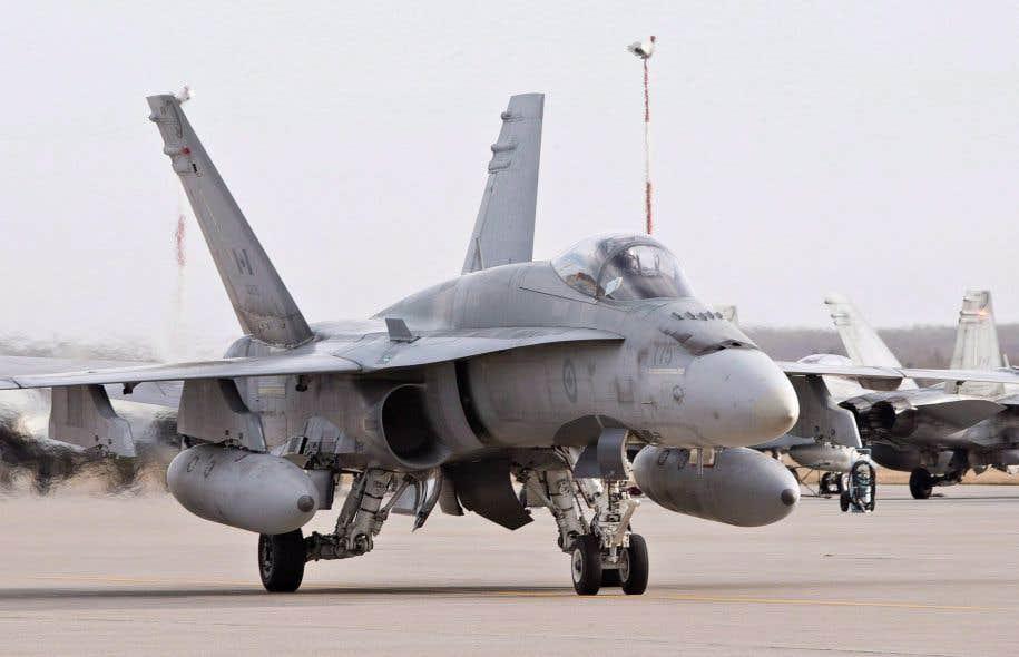 Un pilote meurt dans l'écrasement de son CF-18 en Alberta