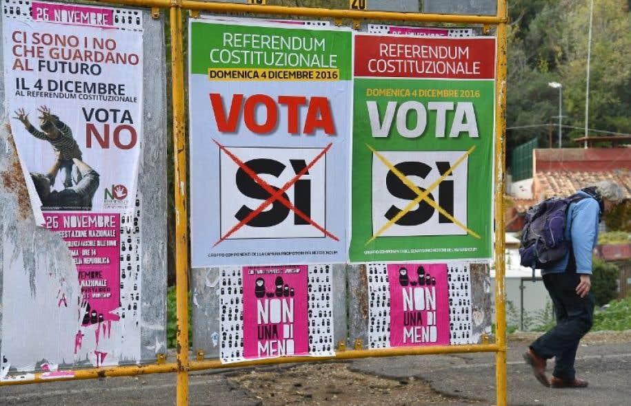Le référendum, tremplin des populistes vers le pouvoir — Italie