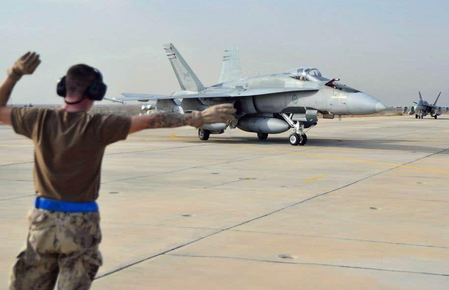 Ottawa a décidé de remplacer ses chasseurs CF-18.