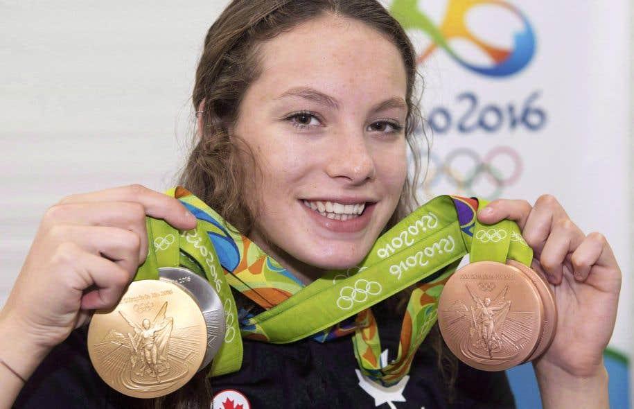 La jeune nageuse Penny Oleksiak athlète de l'année au Canada
