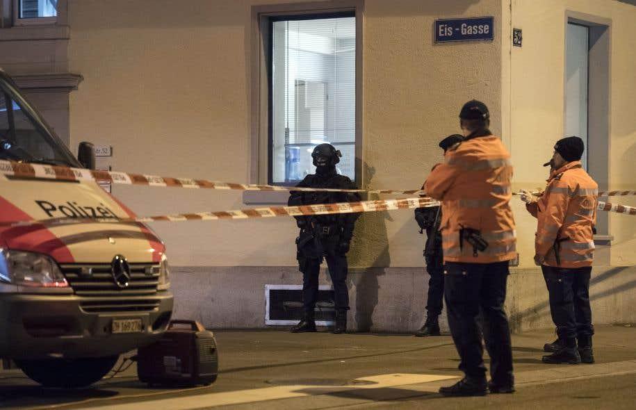 Trois blessés après une fusillade dans un centre de prière musulman — Zurich
