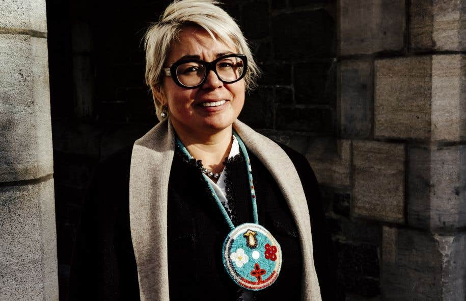 La présidente du Conseil du statut de la femme, Eva Ottawa