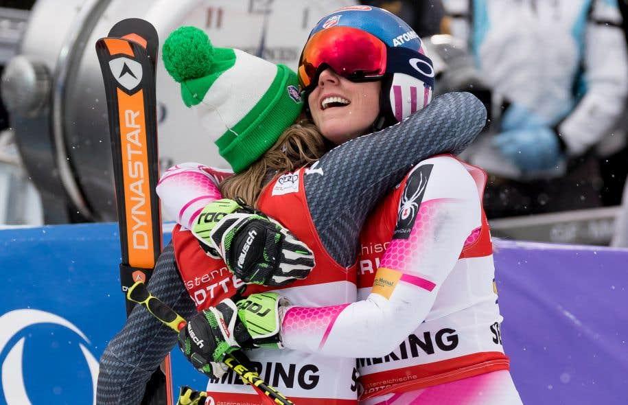 Ski alpin/Semmering/Géant - Shiffrin la plus rapide de la 1re manche, Worley 5e