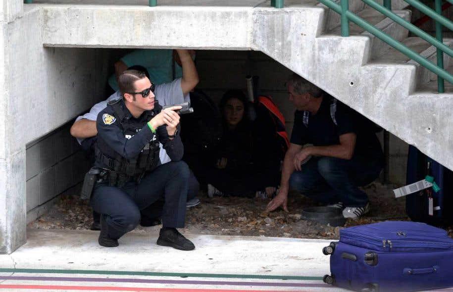 L'assaillant est un ancien soldat américain — Fusillade en Floride