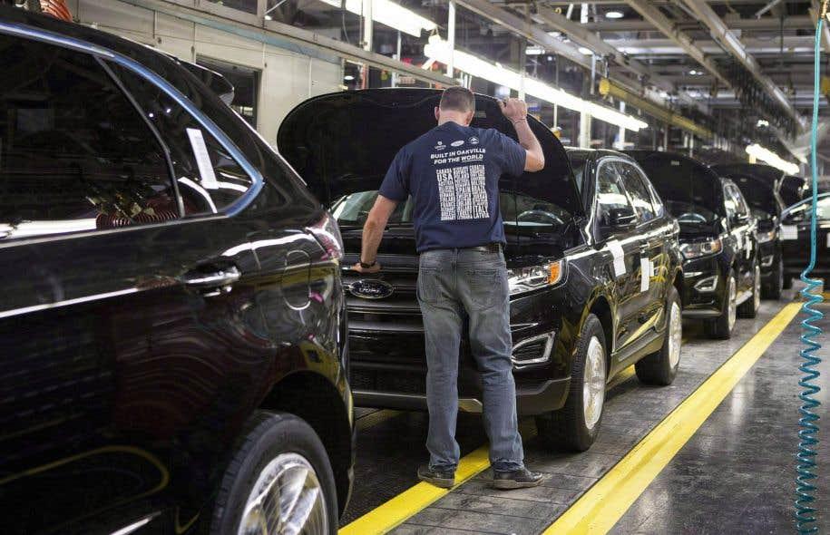 L'industrie automobile compte environ un demi-million de travailleurs et constitue le huitième centre mondial, selon un portrait effectué en 2015 par Industrie Canada.
