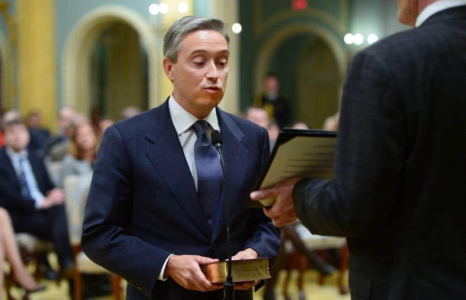 François-Philippe Champagneavait auparavant occupé des postes importants dans des sociétés étrangères.