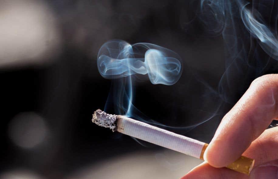 A cessé de fumer selon maigrissait