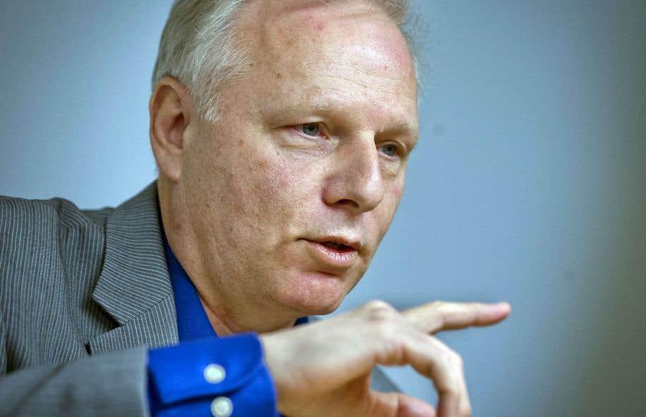 Le chef du Parti québécois, Jean-François Lisée