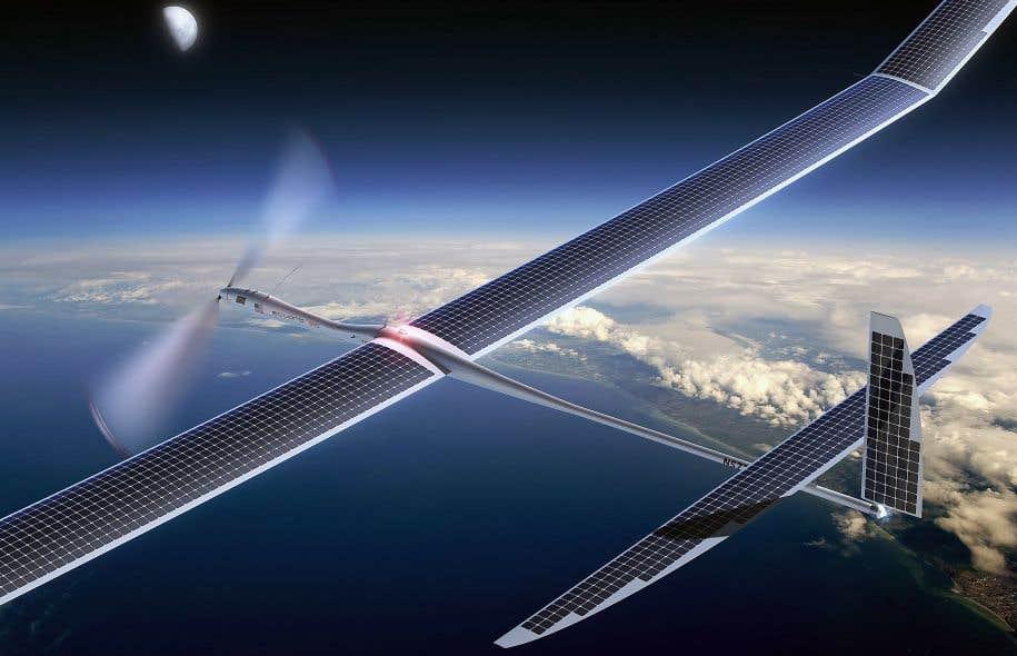 Alphabet abandonne son projet de drones solaires