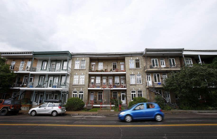 À Québec, la plupart des ruelles se trouvent dans les quartiers Limoilou (ci-dessus) et Montcalm.<br />