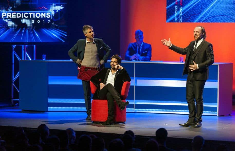 Le spectacle «Prédictions 2017» est présenté au Théâtre Saint-Denis jusqu'au 25 janvier.