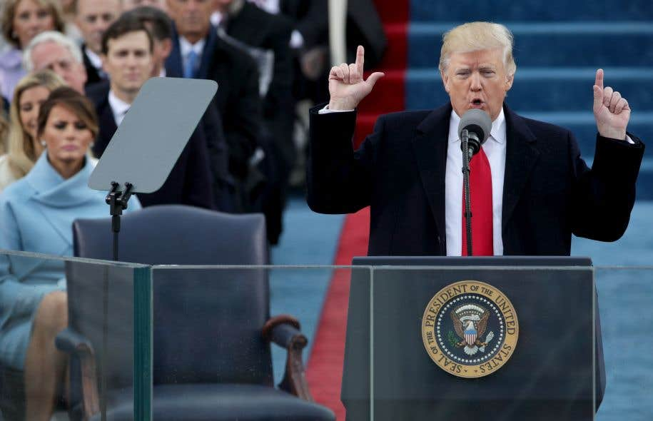 Donald Trumpvenait à peine d'être assermenté vendredi midi lorsque la page web de la Maison-Blanche a été mise à jour, affichant du même coup le plan énergétique de la nouvelle administration républicaine.