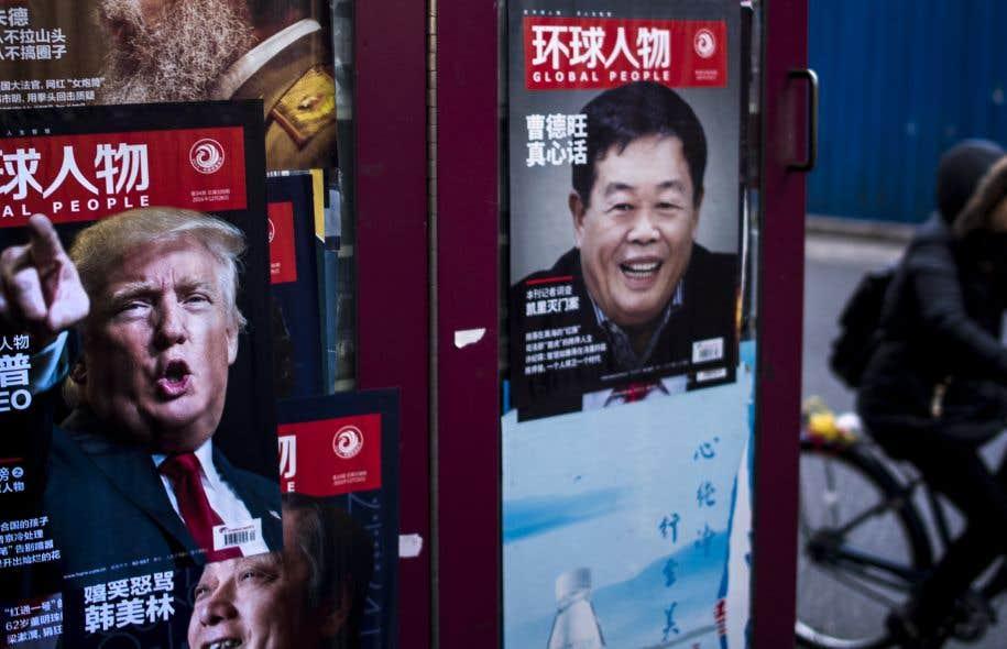Donald Trump a surtout mis l'accent sur sa volonté de rééquilibrer les relations commerciales entre les États-Unis et la Chine, jugeant injustes certains avantages dont bénéficie encore Pékin quant à ses exportations et à la valeur de sa monnaie.