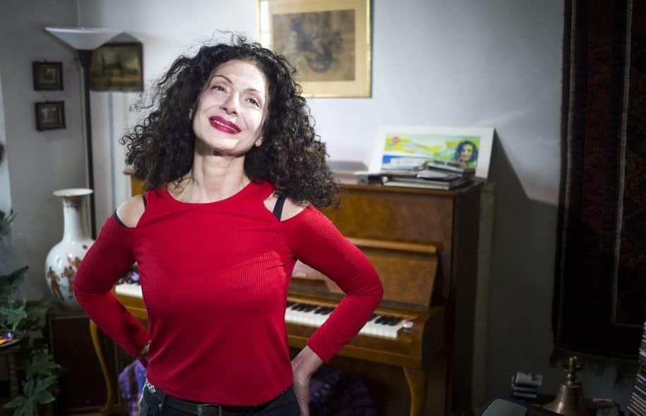 L'album «Lady Sylva» a marqué un tournant pour Sylva Balassanian, qui s'apprête à s'y frotter maintenant en concert.
