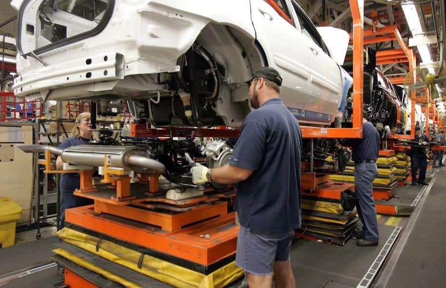 Les mises à pied auront lieu en juillet2017 à l'usine CAMI d'Ingersoll, en Ontario.