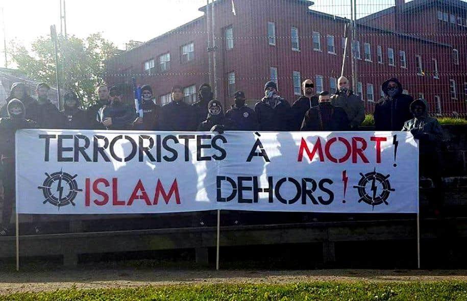 Sitôt connu l'attentat contre une mosquée, le groupe Atalante Québec s'est empressé de s'en dissocier.