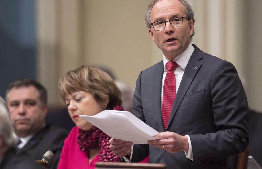 Québec déploie des efforts importants afin de prévenir les crimes haineux, insiste le ministre Martin Coiteux.