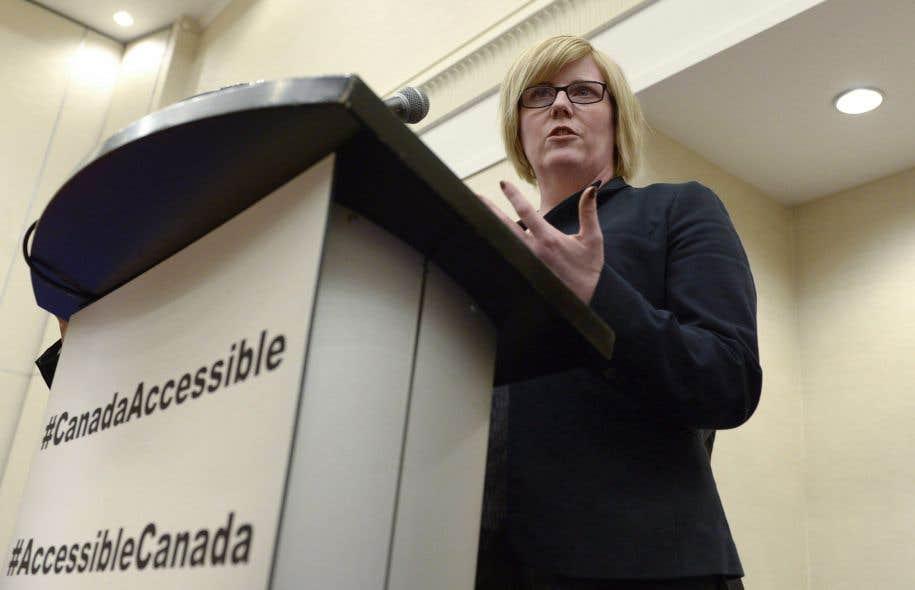 La ministre des Sports et des Personnes handicapées, Carla Qualtrough