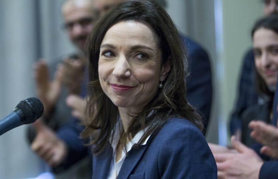 Martine Ouellet candidate à la direction du Bloc québécois