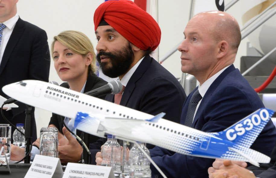 Ottawa financera finalement la CSeries — Bombardier