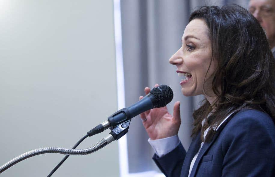 Martine Ouellet est candidate à la chefferie du Bloc québécois.