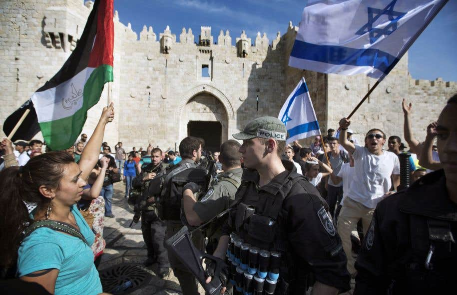 <p>La solution à deux Étatsa été défendue par tous les présidents américains successifs depuis près d'un demi-siècle pour résoudre le conflit israélo-palestinien.</p>
