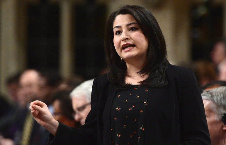 La ministre fédérale de la Condition féminine, Maryam Monsef