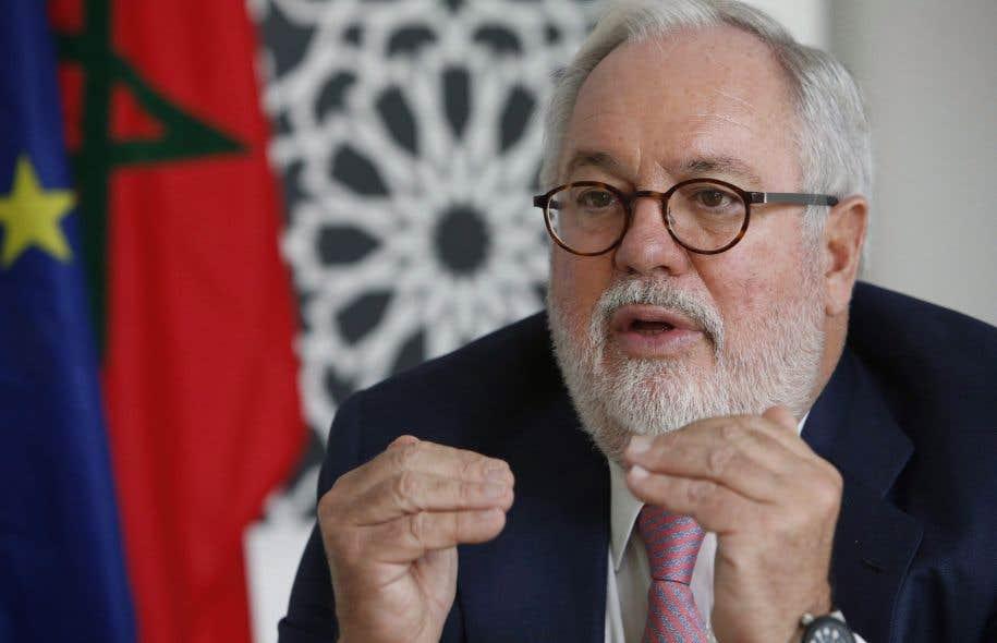 Le commissaire à l'environnement de l'Union européenne, Miguel Arias Canete