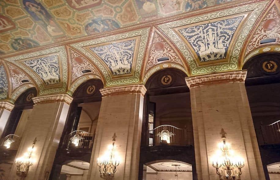 Le lobby de l'hôtel Palmer House
