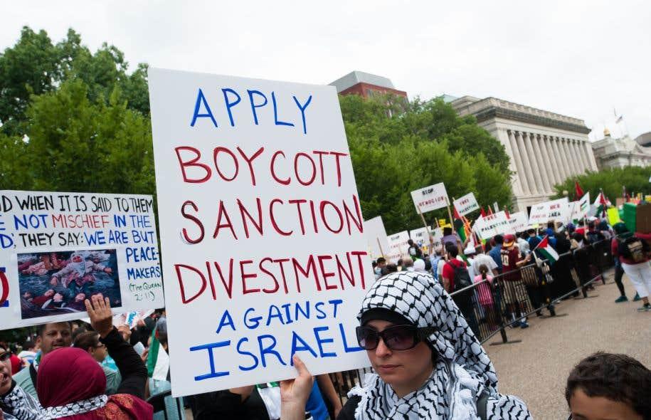 Le boycottage est une façon éthique, pacifique et démocratique de faire pression sur Israël, remarque l'auteur.