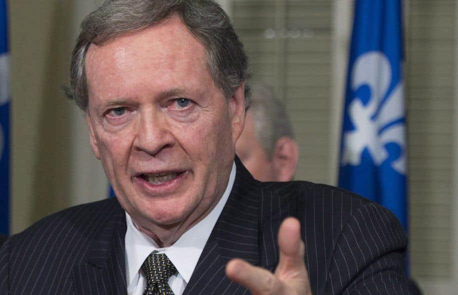 L'ex-ambassadeur canadien aux États-Unis Raymond Chrétien