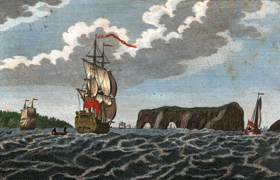 Les pêcheries de la côte de Percé sont détruites par les troupes du général James Wolfe moins d'un an avant le siège de Québec de 1759.