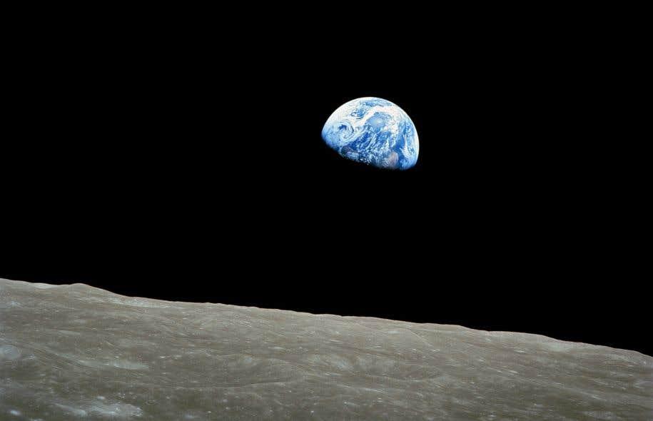 Le 24 décembre 1968, les astronautes d'Apollo 8 prenaient la première photo couleur d'un «lever de terre».