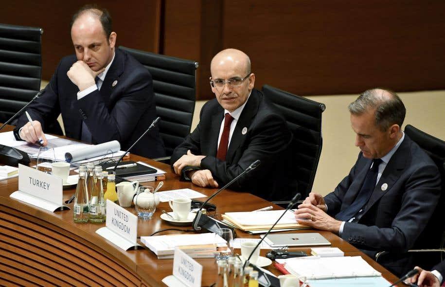 Les ministres des Finances des pays du G20 étaient rassemblés samedi en Allemagne.