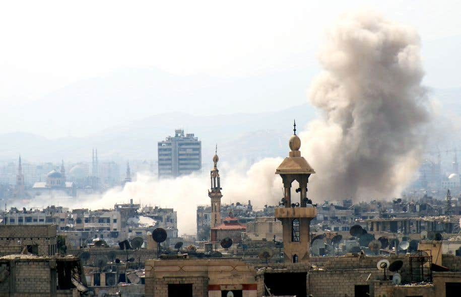 Des djihadistes ont lancé une attaque contre les forces prorégime à Damas, à partir d'une position rebelle dans le quartier de Jobar.