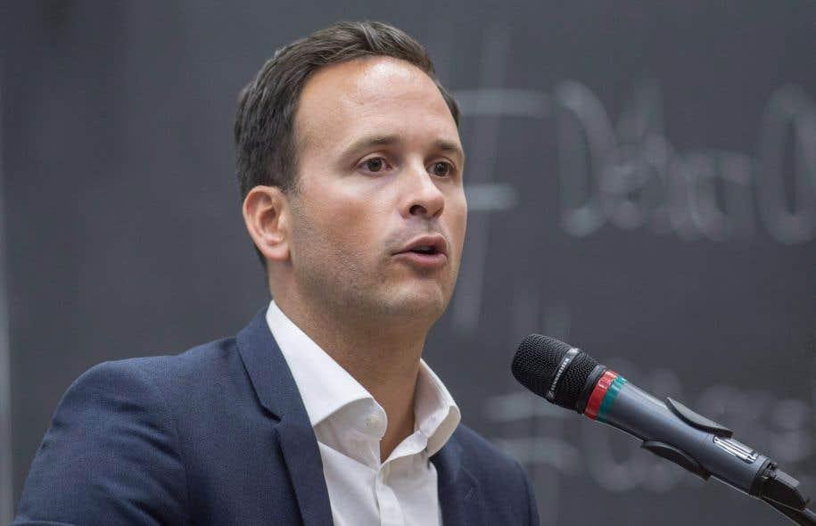 «Je suis convaincu, en fait, qu'il doit y avoir une unité des forces progressistes et indépendantistes au Québec», a déclaré Alexandre Cloutier.