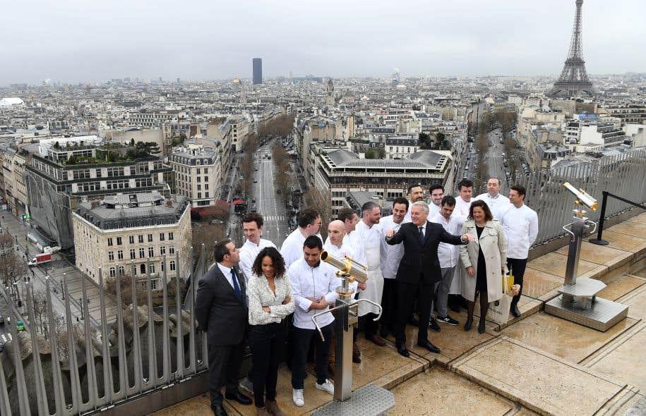 Les futurs chefs trangers l cole de la cuisine - Ecole superieure de cuisine francaise ...
