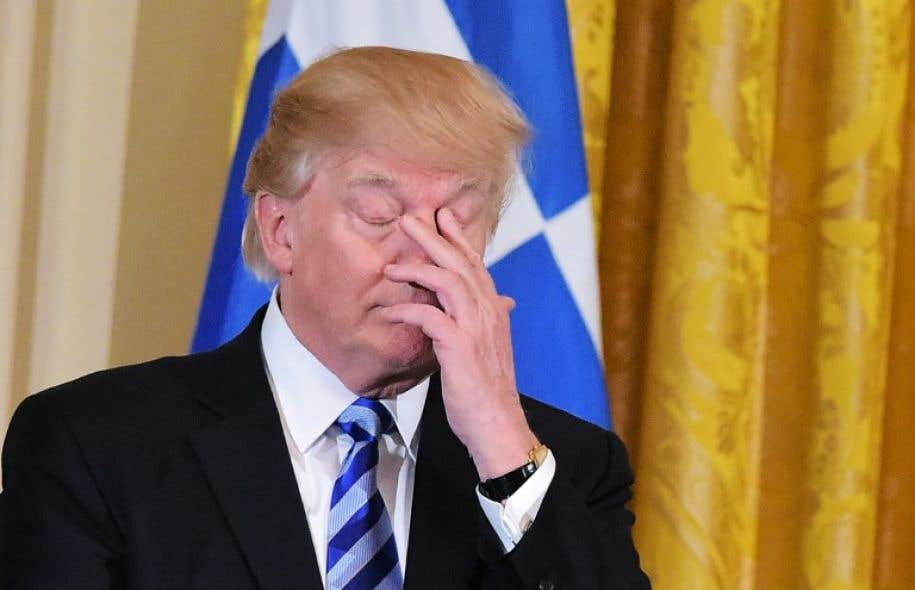 Le président des États-Unis, Donald Trump