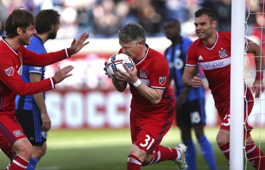 Schweinsteiger marque pour ses débuts à Chicago — MLS