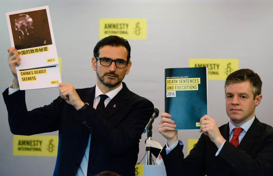 La Chine toujours championne des exécutions, selon Amnesty — Peine de mort