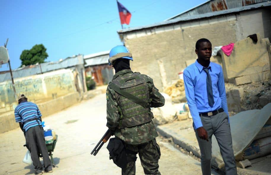 De nombreux Casques bleus sont visés par des allégations de crimes sexuels, notamment en Haïti.