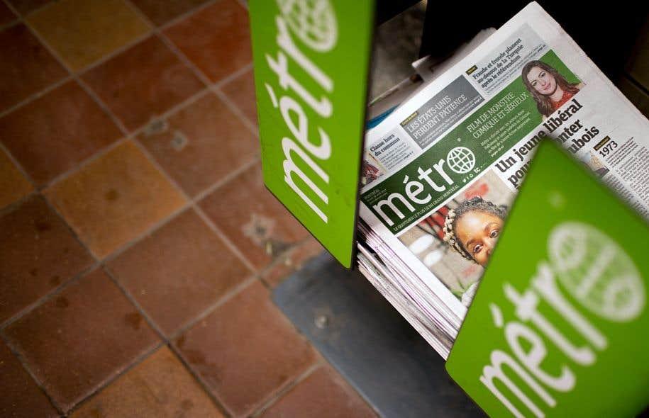 Le journal «Métro» est mis en vente, tandis que des médias spécialisés pour les milieux d'affaires, de la finance et de la construction sont épargnés.