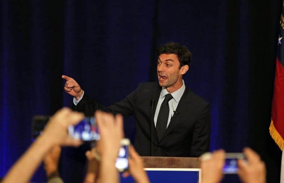 Jon Ossoff comptait bien profiter de l'impopularité de Donald Trump pour s'emparer de la Géorgie.