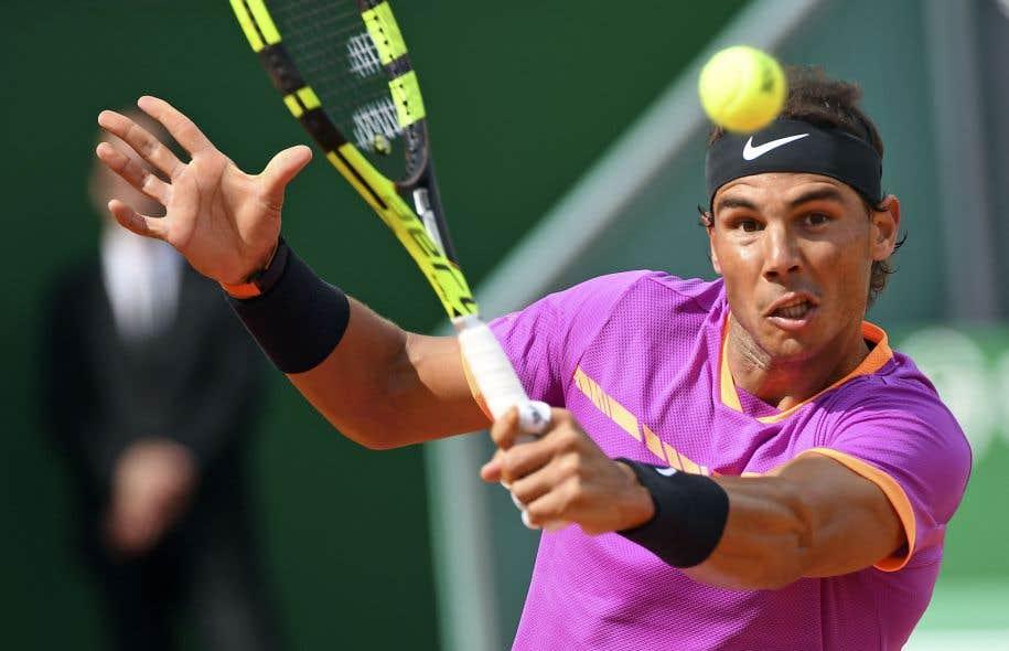 Rafael Nadal a remporté son match de deuxième ronde mercredi.