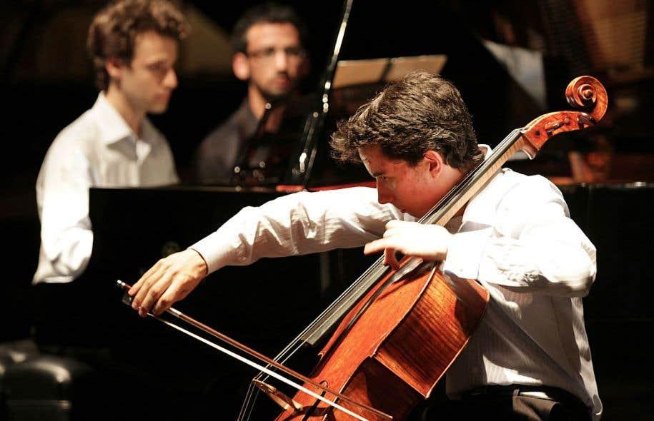 Stéphane Tétreault jouait pour la première fois un important concerto pour violoncelle.